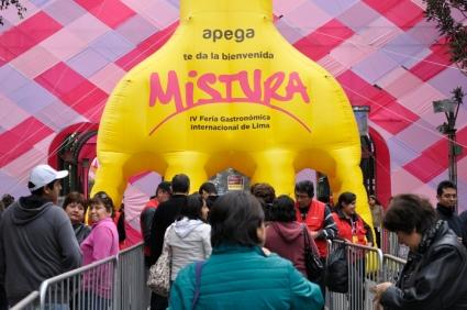 Festival Mistura no Peru - democratização da gastronomia