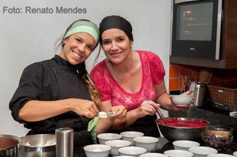Luiza Fiorini e Luciana Fonseca